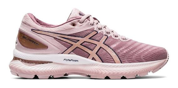 Zapatillas Running Asics Gel Nimbus 22 W Rosa - Mujer