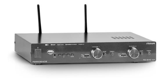 Amplificador Receiver Para Som Ambiente Frahm Rd 240 Wifi