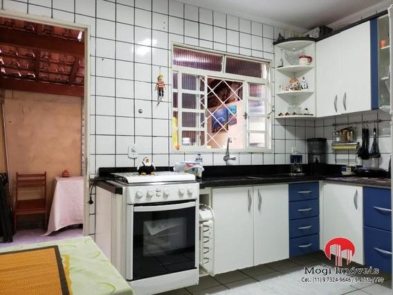 Casa Em Condomínio Para Venda Em Mogi Das Cruzes, César De Souza, 2 Dormitórios, 2 Banheiros, 1 Vaga - So495_2-989187
