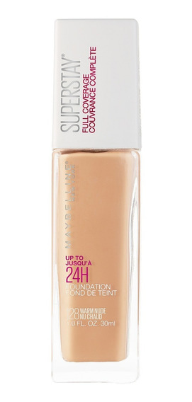 Base Superstay Full Coverage Tono Warm Nude 128 Maybelline