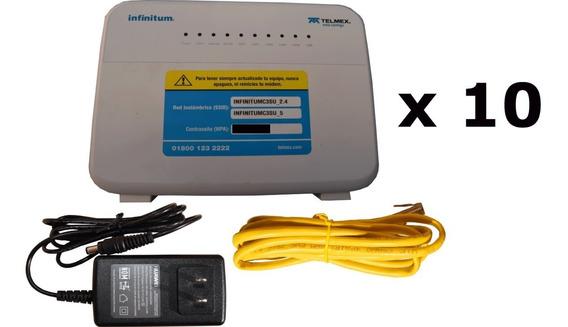 Kit 10 Modems Huawei Hg659 Liberado 2 Fxs (telefonía Ip)