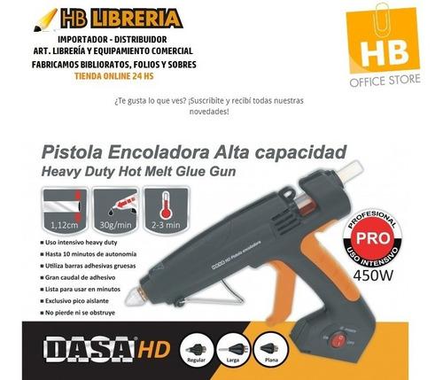 Imagen 1 de 4 de Pistola Encoladora Inalambrica 10 Min Autonomia 3 Picos 450w