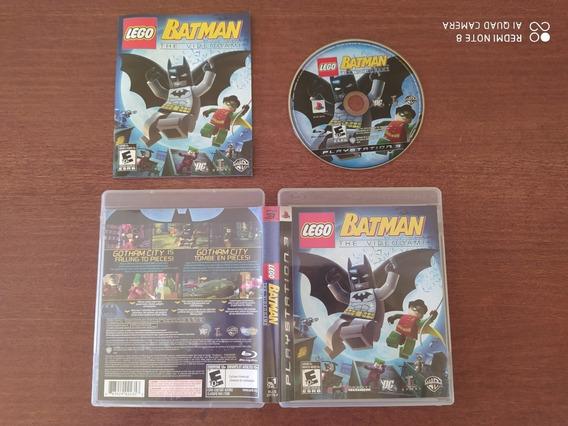 Batman The Video Game - Ps3 - Mídia Física - Usado