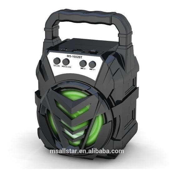 Caixa De Som Portátil Amplificada Mp3 Radio Fm