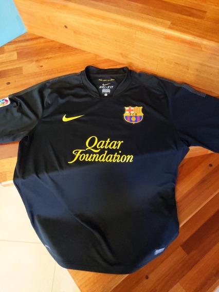 Camiseta Barcelona Negra Año 2012