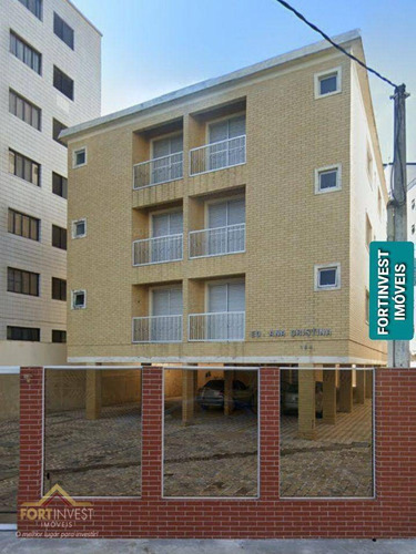 Imagem 1 de 21 de Apartamento Com 1 Dormitório À Venda, 73 M² Por R$ 150.000,00 - Caiçara - Praia Grande/sp - Ap2673