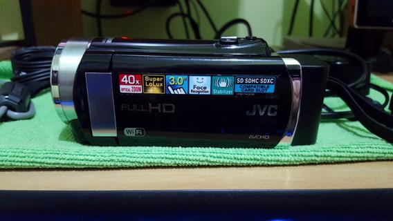 Filmadora Jvc Gz-ex210 Full Hd Wifi Zoom Ópico 40x Lcd 3.0