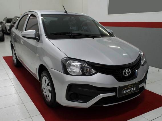 Toyota Etios Sedan X 2019 Automático - Impecável