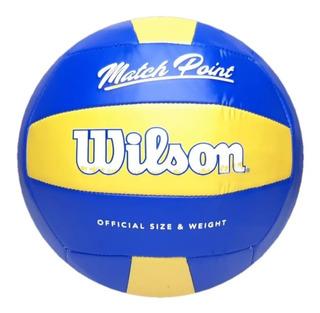 Pelota Voley Wilson Match Point Playa Beach Volleyball Balon