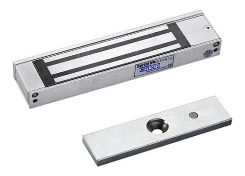 Cerradura Electromagnética Clockcard 600lb 280 Kg Led Sensor