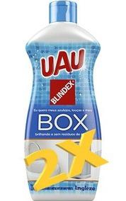 Limpa Box Uau 200ml Aprovado Pela Blindex - Com 2 Unidades