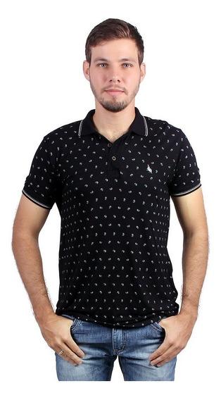 Camisa Polo Pique De Viscose Shonnar - Asya Fashion