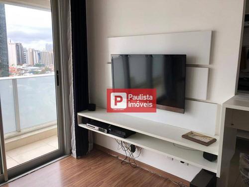 Apartamento Com 1 Dormitório Para Alugar, 50 M² - Chácara Santo Antônio (zona Sul) - São Paulo/sp - Ap31472
