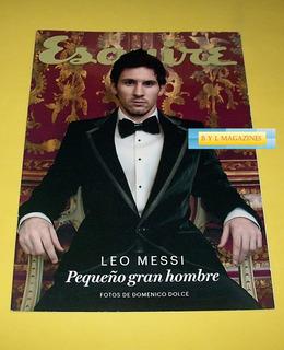 Leo Messi Revista Esquire Especial 2013 Ropa Interior D&g