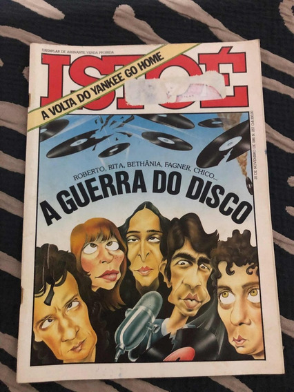 Istoé A Guerra Do Disco Roberto C Simone Bethânia Chico Lee