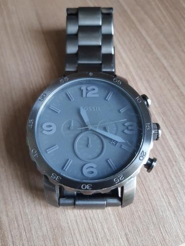 Relógio Fóssil Jr1400 Cinza