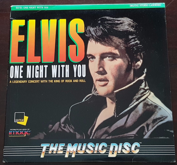 Laser Disc Elvis - One Night With You