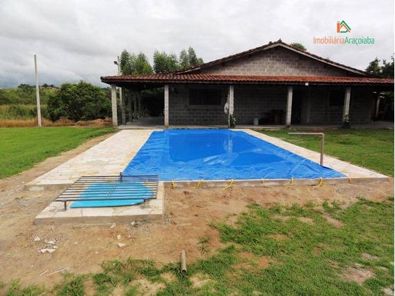 Rancho Com 3 Dormitórios À Venda, 250 M² Por R$ 480.000 - Ra0001
