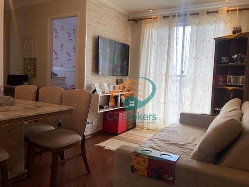 Apartamento Com 2 Dormitórios À Venda, 57 M² Por R$ 280.000,00 - Vila Das Bandeiras - Guarulhos/sp - Ap1380