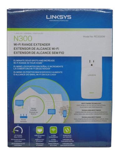 Extensor De Red Linksys Wireless N300 Re3000w Nuevo Sellado