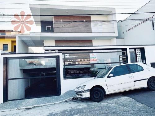Imagem 1 de 14 de Casa Sobrado Condomínio Em Jardim Popular  -  São Paulo - 5797