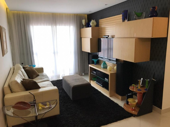 Apartamento Com 3 Dormitórios À Venda, 92 M² Por R$ 480.000 - Campo Grande - São Paulo/sp - Ap4864
