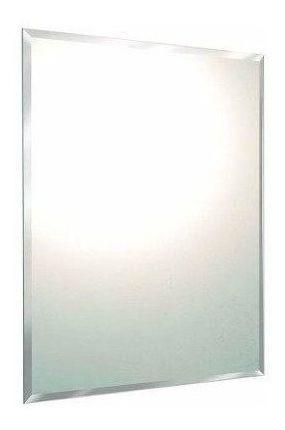 Espelho Lapidado Com Bisotê 50x65cm Com Pendurador