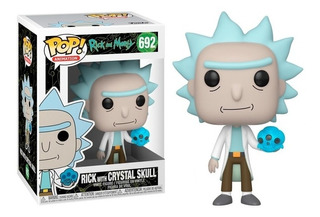 Funko Pop Rick With Crystal Skull 692 Rick And Morty