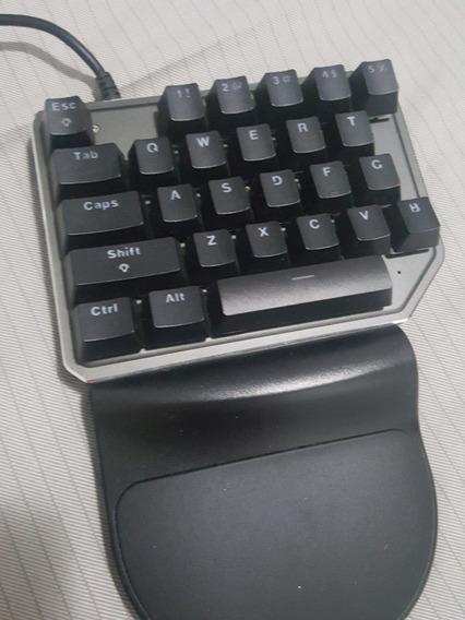 Teclado Mecânico Motospeed K27 Game Pad Preto Outemu Azul