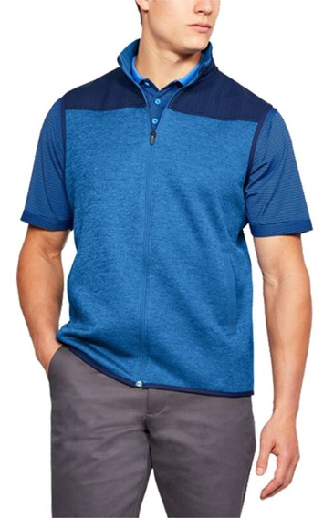 Chaleco Hombre Under Armour Golf Casual Ua Storm Tall L Azul