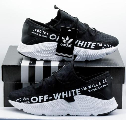 Tênis Off White Tendencia Hype Novo + Super Brinde!!