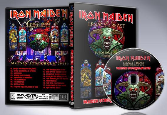 Dvd Iron Maiden - Maiden Stockholm 2018