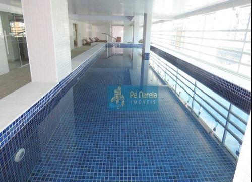 Imagem 1 de 30 de Apartamento Com 2 Dormitórios, 85 M² - Venda Por R$ 500.000,00 Ou Aluguel Por R$ 4.000,00/mês - Canto Do Forte - Praia Grande/sp - Ap0331