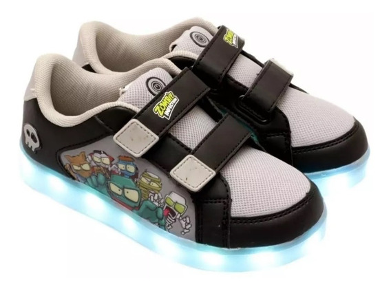 Zapatillas Zombie Con Luces Led Usb Footy !