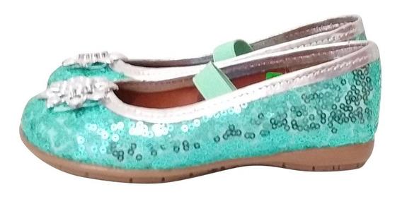 Zapatos Elsa Frozen Disney Para Niña