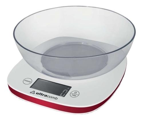 Balanza De Cocina Ultracomb Bl-6002 Bowl Max 3k Kg Digital