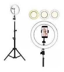 Ring Light Kit Com Tripé 1,60cm Dimmer Selfie Profissional