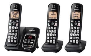 Teléfono Panasonic Inalámbrico Kx-tg273c 3 Bases Bluetooth