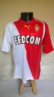 Camisa Futebol Do Monaco Da França - Saviola