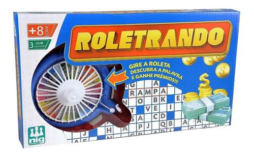 Imagem 1 de 1 de Jogo De Mesa Roleta Infantil Roletrando Nig Brinquedos 1620
