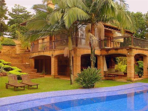 Imagem 1 de 20 de Casa Com 4 Dormitórios À Venda, 740 M² Por R$ 5.300.000,00 - Jardim Mediterrâneo - Cotia/sp - Ca19043