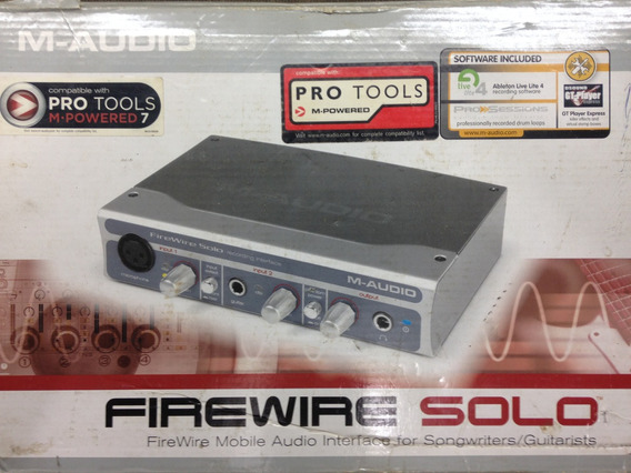 Interfase M-audio Fire Wire Solo