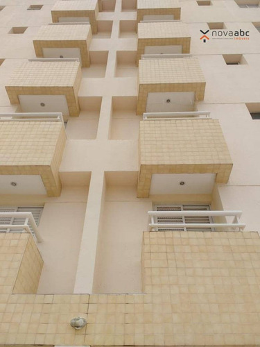 Imagem 1 de 15 de Apartamento Com Condomínio Com 2 Dormitórios À Venda, 57 M² Por R$ 280.000 - Vila Valparaíso - Santo André/sp - Ap0385