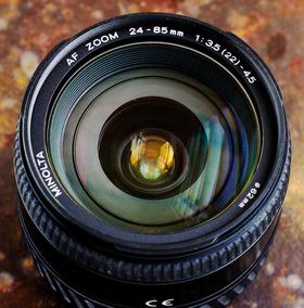 Minolta 24-85mm F3.5-4.5 Af - Full Frame - Bom Estado