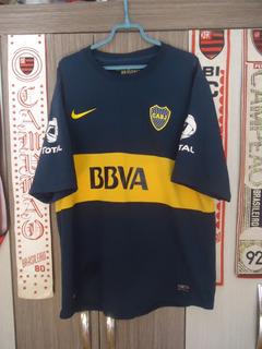 Camisa Boca Juniors ( Made In Argentina / Nº 7 Acosta )