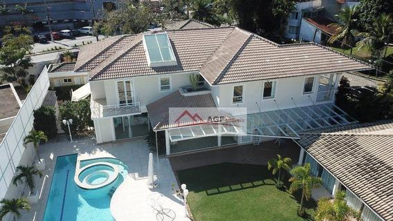 Casa Com 5 Quartos À Venda, 650 M² Por R$ 4.600.000 - Itacoatiara - Niterói/rj - Ca0375