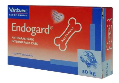 Endogard Vermífugo Para Cães 30kg C/ 2 Comprimidos - Virbac