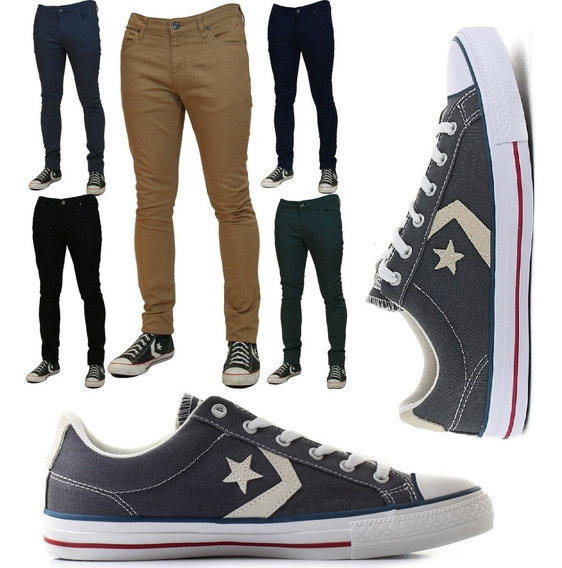Zapatillas Converse Star Player Ox Doble Genero