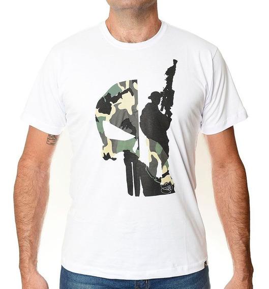 Camiseta Militar Caveira Rafale Skull Sniper