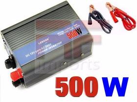 Inversor Transformador Conversor Veicular 500w 12v -110 + Nf